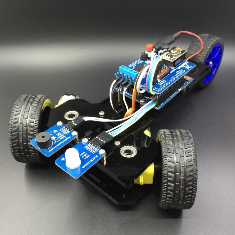 Arduino Controlled 3 Wheeled Car Duinokit Educational