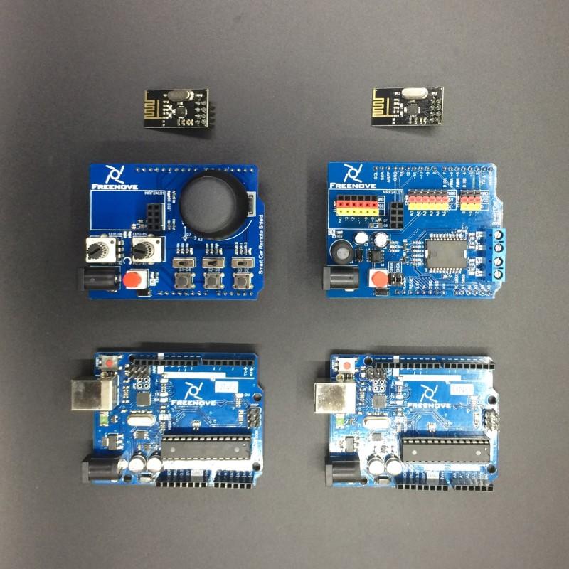 Arduino controlled 3-Wheeled car - DuinoKit - Educational