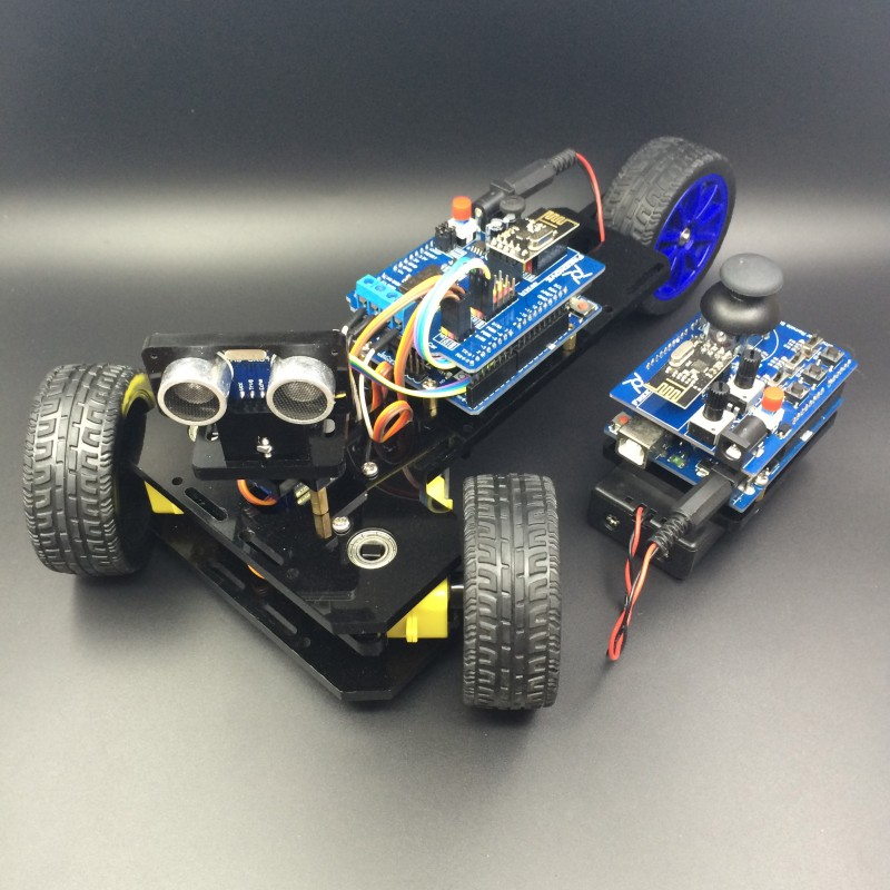 Used Car Batteries >> Arduino controlled 3-Wheeled car - DuinoKit - Educational Electronics Learning Kits.