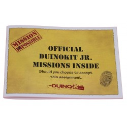 Mission Booklet for DuinoKit Jr.