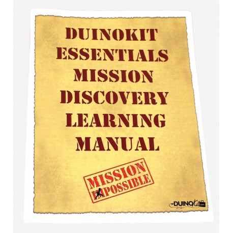 Mission Card Booklet for DuinoKit Essentials